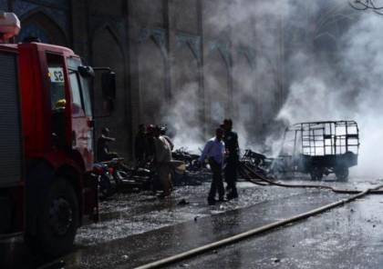 مقتل 11 أفغانياً بانفجار قنبلة في قندهار