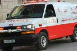 7 إصابات في حادث سير في جنين
