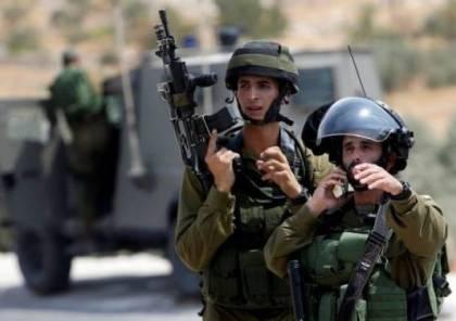نابلس: الاحتلال يستولي على معدات بناء في بورين