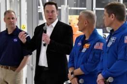 ماسك وناسا يتفقان على موعد لإرسال البشر برحلات فضائية تجارية