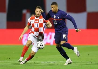 شاهد.. فرنسا تهزم كرواتيا بصعوبة