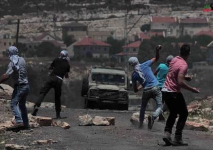 3 إصابات برصاص الاحتلال بمواجهات كفر قدوم