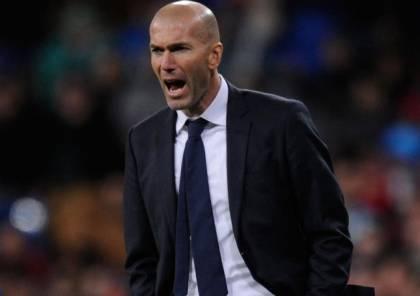 زيدان: هدفنا الأساسي هو الدوري الأسباني برشلونة لم يتغير