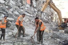 الأشغال بغزة: أنجزنا 90% من إزالة ركام العداون على غزة