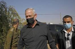 غانتس:: لا حصانة لقادة حماس واجراءات جديدة ضد غزة