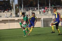 موعد جديد لمباريات الدوري في غزة