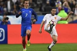 فيديو.. إسبانيا تتفوق على فرنسا بثنائية