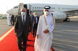 اشتية يصل الدوحة لبحث إعادة إعمار غزة وعدة قضايا سياسية واقتصادية