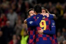 فيديو.. برشلونة يتأهل إلى دور 16 بفوز مثير على دورتموند