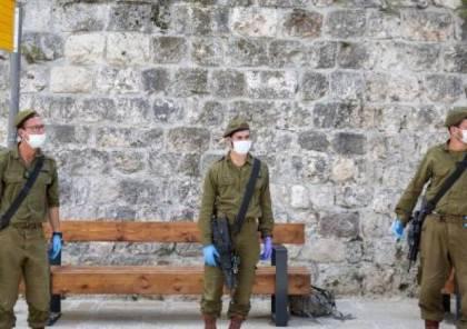 انخفاض عدد الإصابات بفيروس كورونا في أوساط جنود الاحتلال