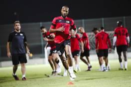 منتخبنا الوطني يواصل معسكره التدريبي في الدوحة