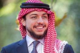 موظف أمن يطلب من مرافقي ولي العهد الأردني هوياتهم (فيديو)