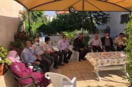 الصالح يطلع على احتياجات قباطية والزبابدة ومثلث الشهداء من المشاريع التطويرية