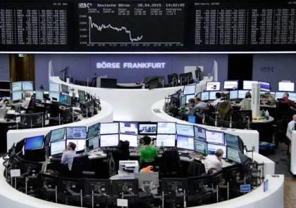تراجع أسهم أوروبا وسط القلق من تعاف بطيء بسبب الموجة الثانية لجائحة كورونا