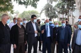 غزة: عوض وأبو نعيم يوجهان كلمة للمواطنين بشأن يومي الإغلاق في القطاع