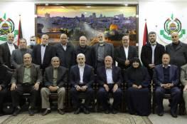 لأول مرة تنتخب إمرأة.. حماس تنشر أسماء أعضاء مكتبها السياسي في غزة