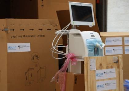"""""""الصحة"""" تتسلم 50 جهاز تنفس اصطناعي من الممثلية الألمانية"""