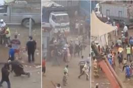 فيديو صادم- أعمال عنف وسرقة في سوق للمواشي بالمغرب