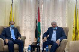 نائب رئيس حركة فتح يلتقي القنصل العام الفرنسي