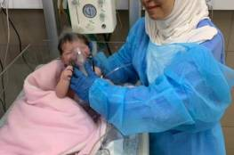 """""""المقاصد"""" ينجح في استئصال ورم سرطاني من قلب رضيعة فلسطينية"""
