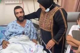 عائلة الأسير المضرب كايد الفسفوس: هناك خشية من اغتيال الأسرى المضربين