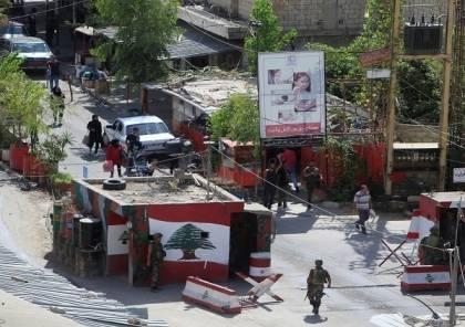 القوة المشتركة الفلسطينية تصدر بيانا عقب اغتيال قيادي من فتح بمخيم عين الحلوة