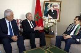 أبوعمرو يبحث مع رئيس وزراء المغرب آخر تطورات القضية الفلسطينية
