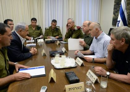 """صحيفة عبرية تكشف السر وراء اجتماع """"الكابينت"""" المتكرر خلال الأسبوع"""