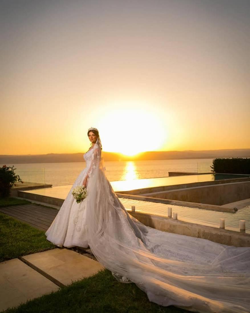 زواج لينا القيشاوي (1)