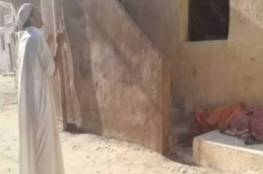 رعب في مصر.. شاب يخرج أمه الميتة من قبرها!