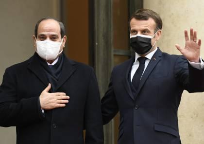 توافق مصري فرنسي على التهدئة بغزة.. والسيسي: بأسرع وقت ممكن!
