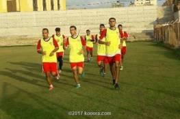 غزة الرياضي يستأنف تدريباته لمرحلة إياب الدوري