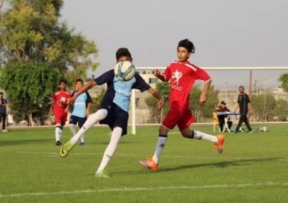 تواصل منافسات بطولة الأكاديميات الأولى بغزة