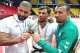 """قيادي بحماس يُعلق على انسحاب المصارع الجزائري """"نورين"""" من أولمبياد طوكيو"""
