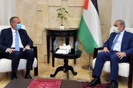 اشتية يدعو لتحالف دولي يهدف لإيجاد حل عادل للقضية الفلسطينية
