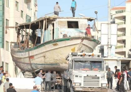الاحتلال يُعيد 10 قوارب و معدات للصيادين في قطاع غزة