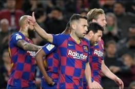 برشلونة لن يجبر اللاعبين على استكمال الموسم