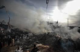 وفاة شاب متاثرا بجراحه في حريق النصيرات يرفع عدد ضحايا الحادثة إلى 22