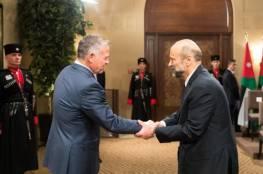 العاهل الأردني الملك عبد الله الثاني يقبل استقالة حكومة الرزاز
