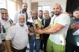 الاتحاد الفلسطيني نظم بطولة فلسطين الكبرى لمصارعة الذراعين