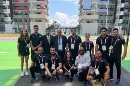 الرجوب يلتقي البعثة المشاركة في أولمبياد طوكيو: يجب أن يظهر لاعبونا بصورة تليق بفلسطين