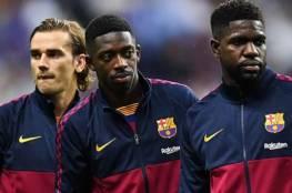 برشلونة يتلقى صدمة بشأن مدة غياب أومتيتي