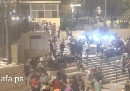 إصابة شاب واعتقال آخرين خلال وقفة تضامنية في الشيخ جراح بالقدس المحتلة