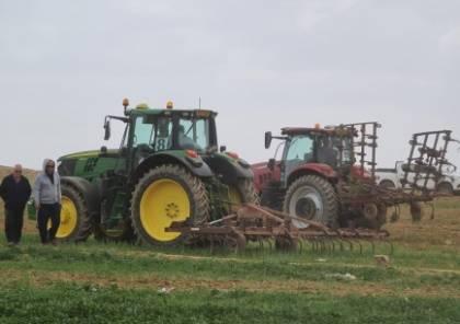تجريف وإبادة محاصيل زراعية في النقب..فيديو