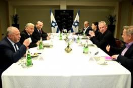 """اسرائيل:رؤساء أحزاب """"حكومة التغيير"""" اجتمعوا لاول مرة اليوم الاحد"""