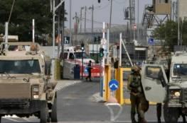 الاحتلال يفرض اغلاقا شاملا على الضفة الغربية وقطاع غزة في هذه المواعيد