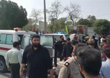 فيديو ..قتلى وجرحى في هجوم استهدف عرضا عسكريا في إيران