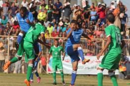 جماهير رفح تترقب مباراة الديربي بين الشباب والخدمات