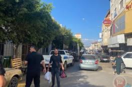 الشرطة والبلدية تنفذ حملة لتنظيم الأسواق وإزالة التعديات في جنين