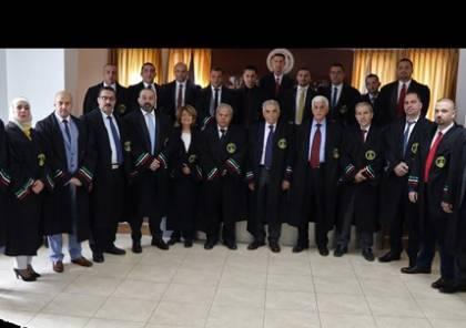17 قاضي صلح يؤدون اليمين القانونية أمام مجلس القضاء الأعلى الانتقالي